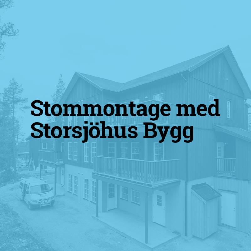 Storsjöhus Bygg