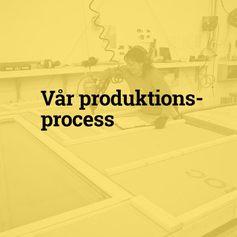 Vår produktionsprocess